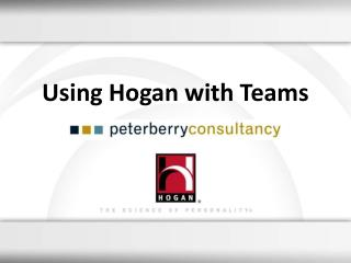 Using Hogan with Teams