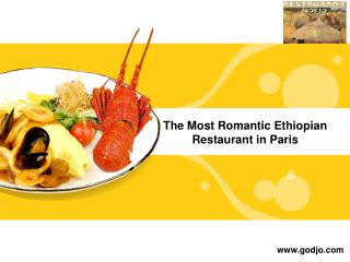 The most romantic ethiopian restaurant in paris