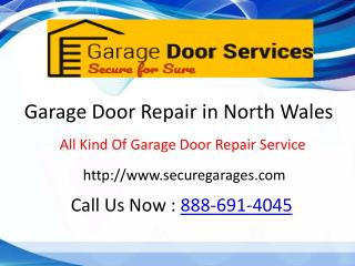 Garage Door Service North Wales