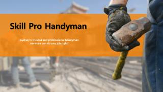 Skill Pro Handyman