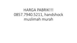 HARGA PABRIK!!! 0857.7940.5211, Jual handshock ring lace murah