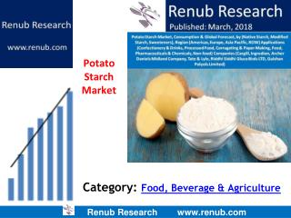 Potato Starch market is expected to exceed US$ 2 Billion by 2024