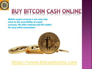 Buy Bitcoin Cash Online in Singapore | BitcashCoins