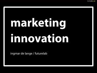 Marketing Innovation, Kiev, Ukraine