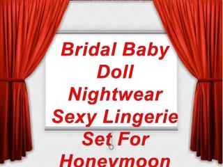 Women Honeymoon Wear Lingerie Set