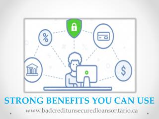 Bad Credit Unsecured Loans Ontario – Get Cash Help On Right Time
