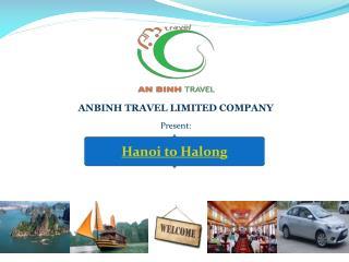 Hanoi to Halong Tours