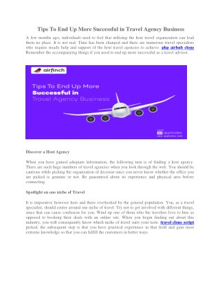 AirFinch - Exclusive Online Rental Booking Script