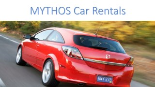 Find Deals on Car Rental in Crete Online by MYTHOS Car Rentals