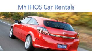Car Rental at Heraklion Airport by MYTHOS Car Rentals