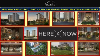Assetz Here & Now  | Rachenahalli | Pre Launch | Bangalore