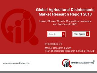 Agricultural Disinfectants Market Top Key Player Report 2018