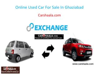 Online Used Car For Sale In Ghaziabad