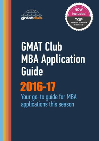 GMAT Club MBA Guide