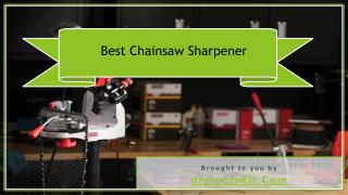 Best Chainsaw Sharpener for the Money