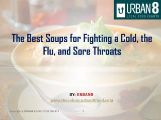 The Best Soups for Fighting a Cold, the Flu, and Sore Throats
