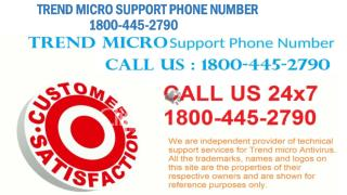 TREND MICRO ANTIVIRUS 1800-445-2790 TOLL FREE 24x7 CUSTOMER SUPPORT SERVICES