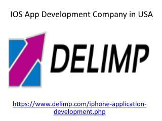 Best IOS App Development Company in USA - Delimp