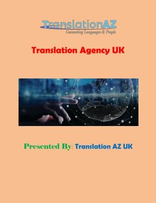 Translation Agency UK