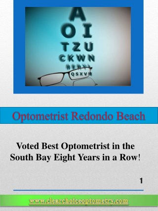 Optometrist Redondo Beach