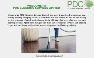 Top Cleaning Services Company in Aberdeen, UK