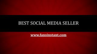 Best Social Media Seller