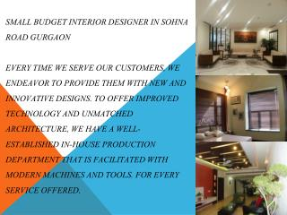 Interior Decorator and Furniture Makers in south delhi | AAC interior