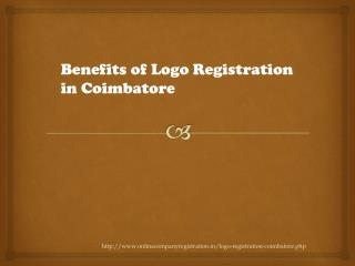 Benefits of logo registration in coimbatore