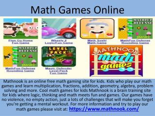 Math Games Online