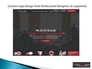Custom Logo Design from Professional Designers at Logomines
