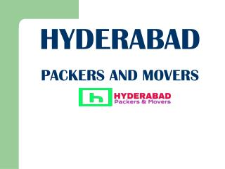 Find the Best Packers and Movers in Hyderabad