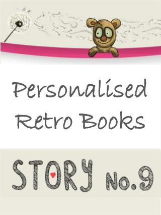 Personalised Retro Books