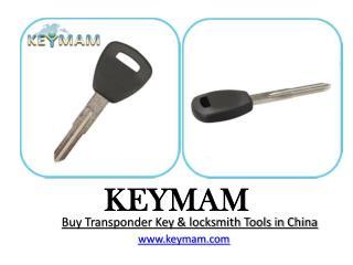 Buy Transponder Key & locksmith Tools in China