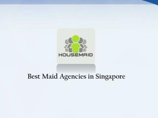 Best Maid Agencies