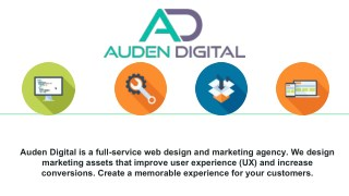 Web Development Company in Austin by Auden Digital