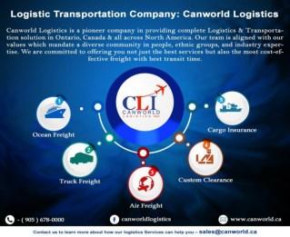 Logistic Transportation Company: Canworld Logistics