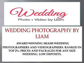 Wedding photography in miami florida