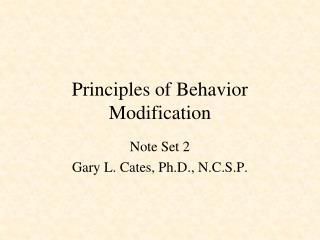 methods for modifying behavior in children Modification techniques 1 running head: modification techniques for children with autism  a survey of autistic behavior modification techniques.