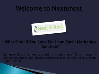 best professional email provider, best transactional email service at nextehost