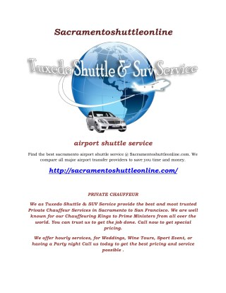 airporter shuttle