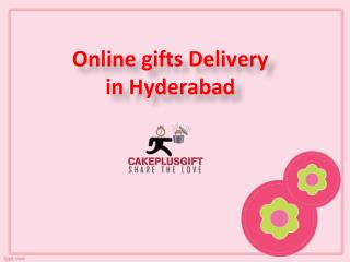 Online gifts delivery in Hyderabad, Midnight Gifts Delivery in Hydeabad - Cakeplusgift