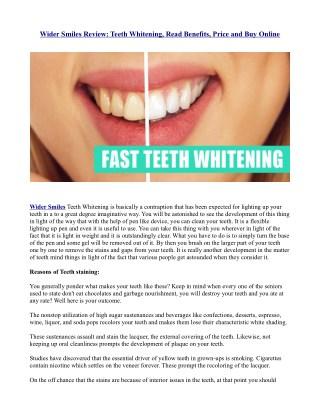 https://healthsupplementzone.com/wider-smiles-teeth-whitening/