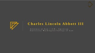 Charles Abbott - Attorney at Law