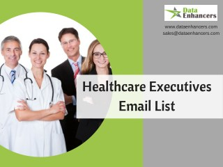 Healthcare Executives Email List