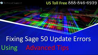 Solving Sage 50 Update Errors Using Advanced Tips
