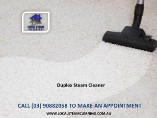 Duplex Steam Cleaners