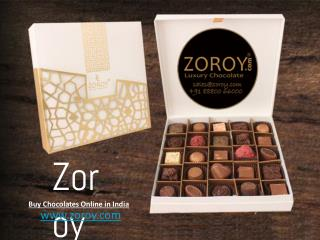 Zoroy - Buy Chocolates Online for any Occasion