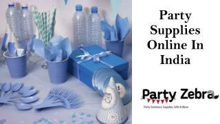 Kids Birthday Party Supplies Online India
