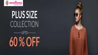 Buy Sexy Plus Size Dresses Online from oxolloxo India
