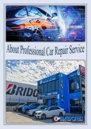 Professional Car Repair Service in Epping